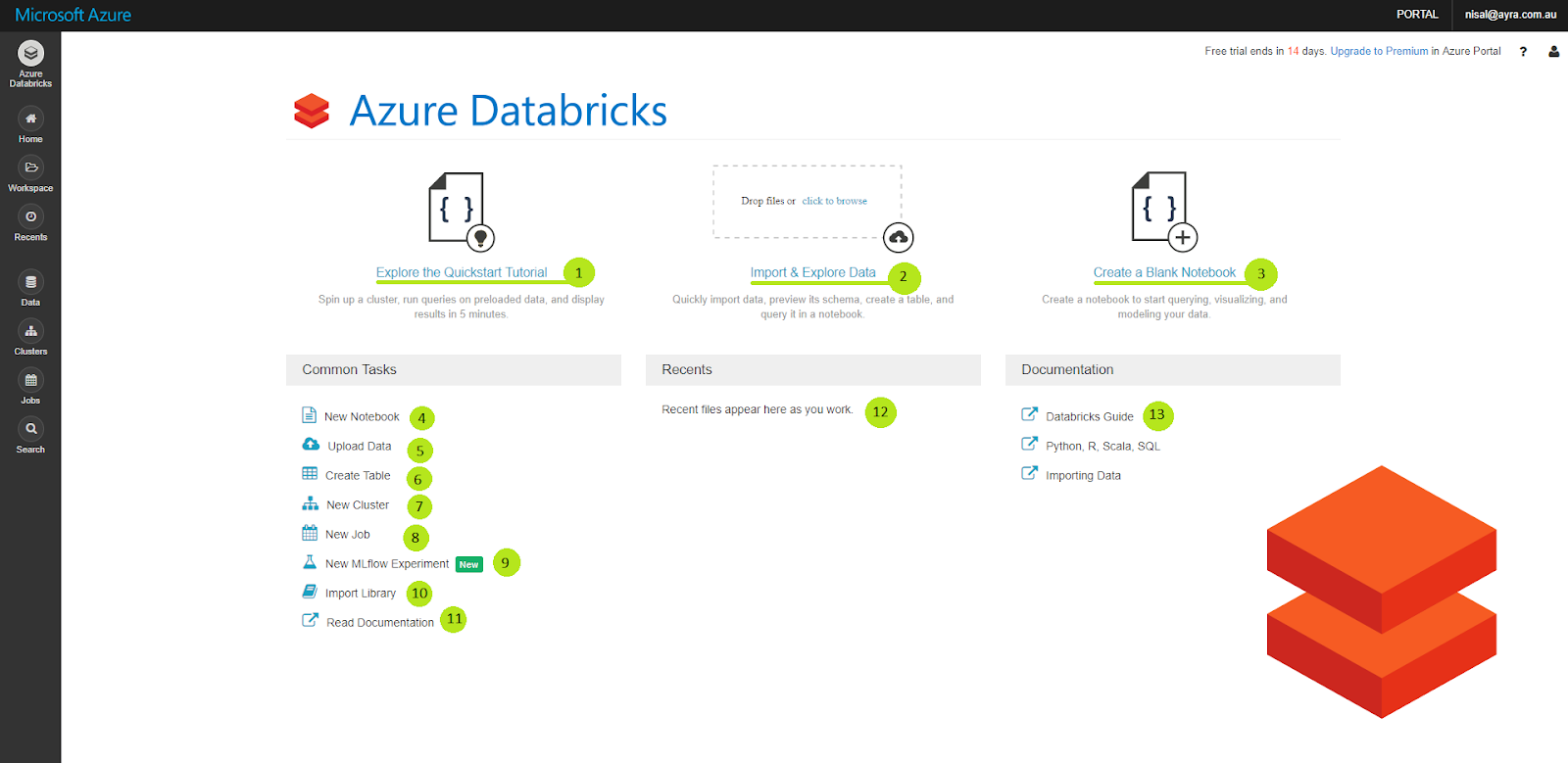 Jump Start with Azure Databricks - Chapter 2 : Walkthrough on Azure
