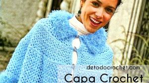 Capa Crochet Con Glamour / Paso a paso