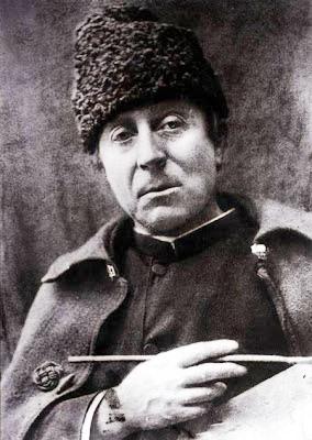 Foto de Paul Gauguin bien abrigado