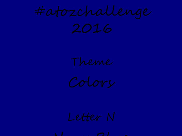 #atozchallenge 2016//N is for Navy Blue