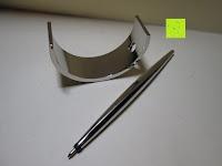 Lieferumfang: Kugelschreiber Bow Aluminium silber Ständer