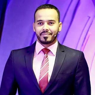 وداع النجم محمد عثمان مزيع قناه النيل الازرق