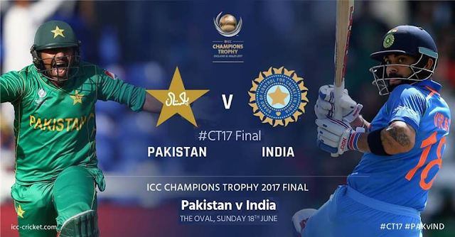 ICC Champions Trophy 2017 Final India vs Pakistan