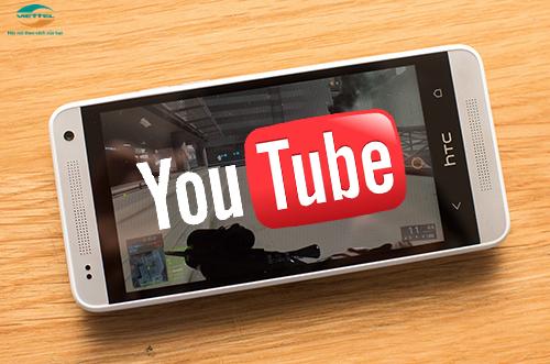 Đăng ký gói Youtube ngày Viettel - YT1 10K