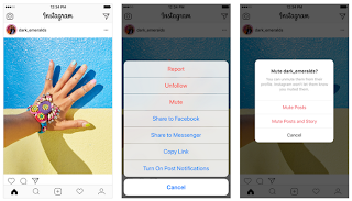 You can Now Mute Account on Instagram