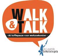 Logo Walk&Talk Bibliotheek Bollenstreek