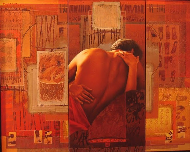 David Graux 1970 | French Symbolist painter