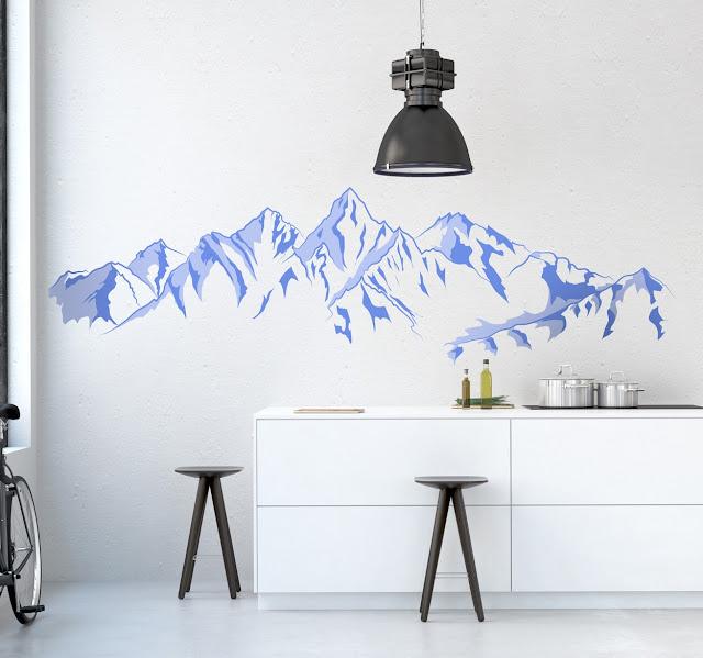 wandsticker bergen