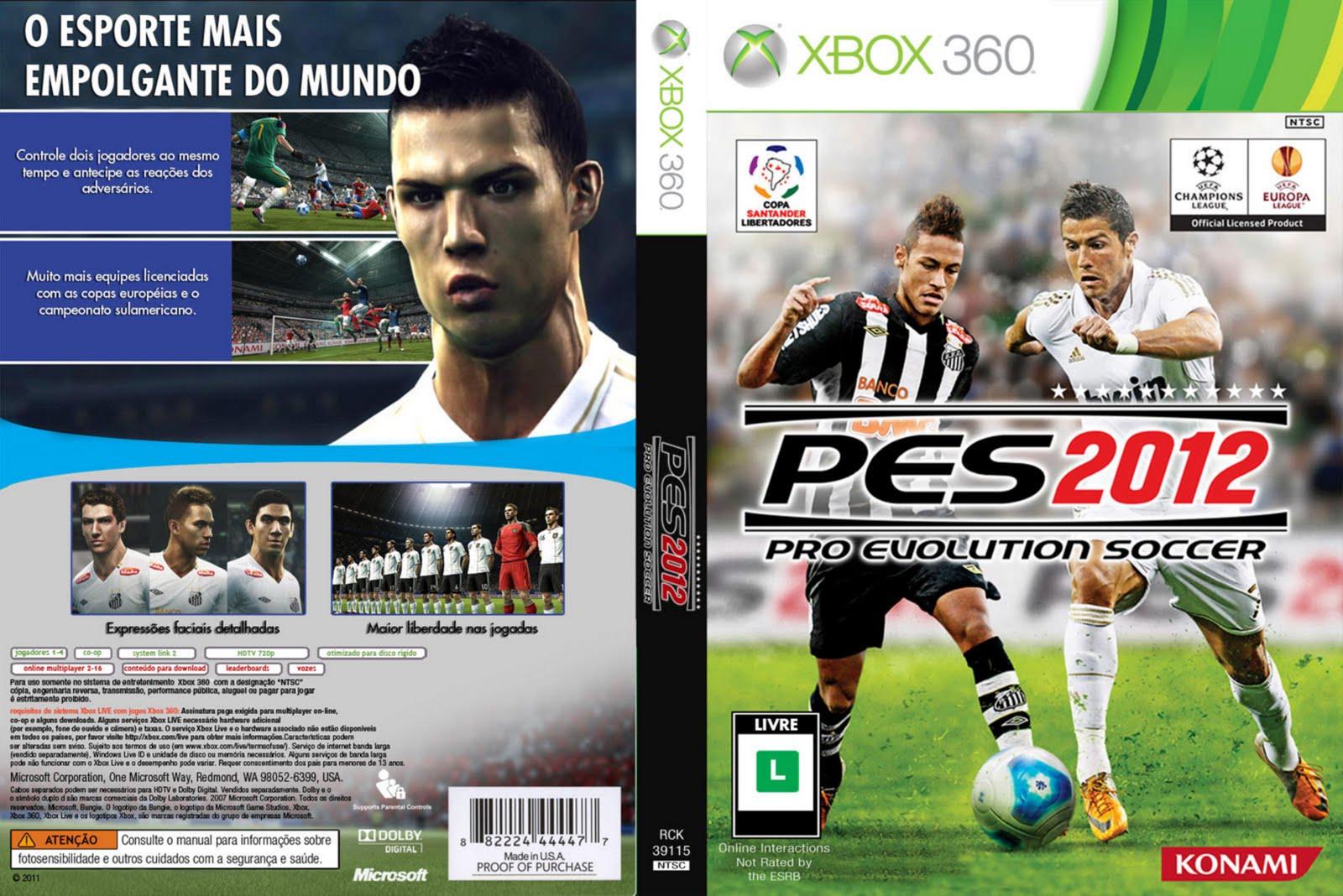 PES Pro Evolution Soccer 2012