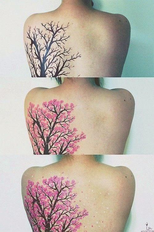 40 Tatuajes De Flores De Cerezo Para Chicas Belagoria La Web De