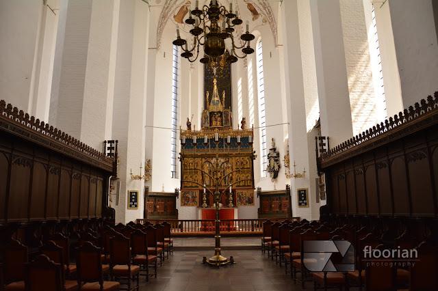 Katedra w Aarhus, nawa główna - atrakcje turystyczna w duńskim Aarhus