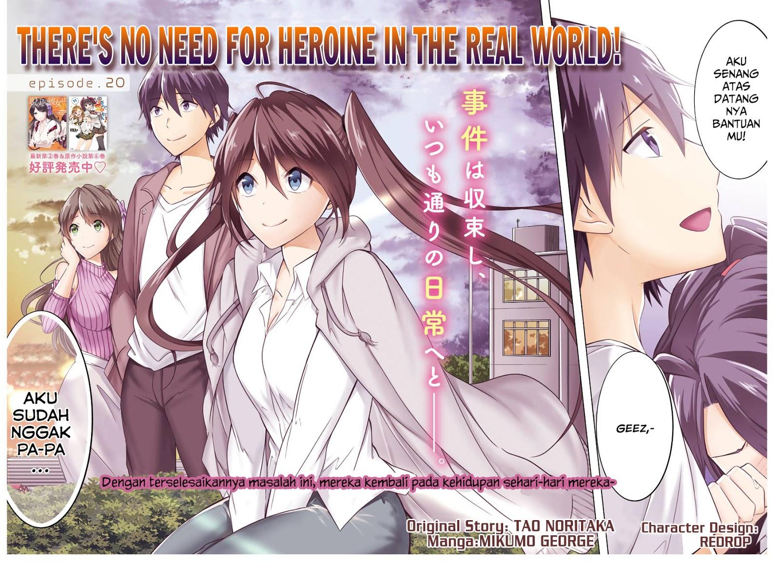 Chuuko demo Koi ga Shitai! Chapter 20