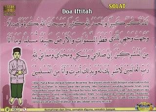 Bacaan Doa Iftitah Yang Benar Dalam Sholat Bahasa Arab, Latin dan Artinya