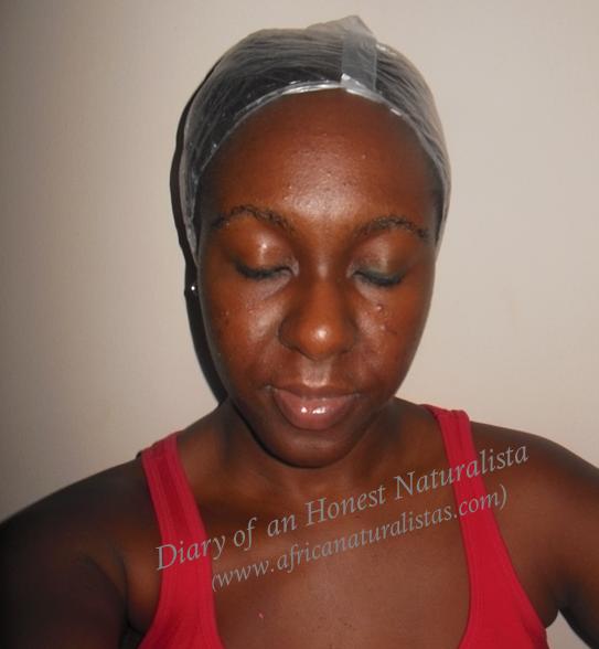 moisturise natural hair
