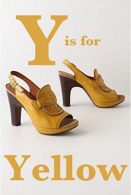 Yellow Ballet Flat Shoes