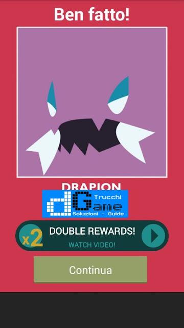 Indovina il Pokemon soluzione livello 41-50