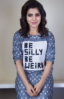 Samantha A Aa Promotions in Bangalore Photos