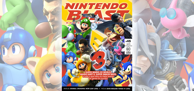Revista Nintendo Blast Nº45 mostra o melhor da E3 2013 com Super