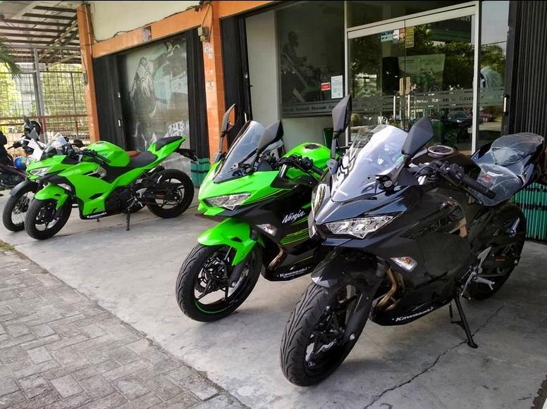 Asiiikk !! Beli New Ninja 250 2018 di Kawasaki Greentech Riau berhadiah knalpot WRX Full Sistem !