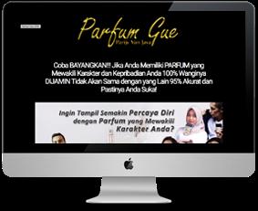 landing page template untuk blogspot