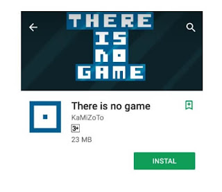 There is no game puzzle