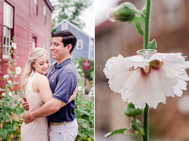 A Summer Downtown Annapolis Engagement Session photographed by Maryland Wedding Photographer Heather Ryan Photography