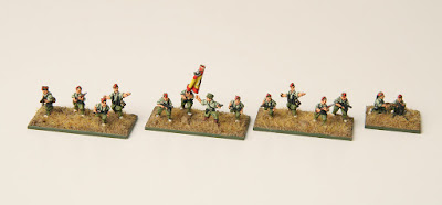 1st place: SCW Regular Army, by MIG - wins £20 Pendraken credit, and a £20 voucher from Ironclad Miniatures!