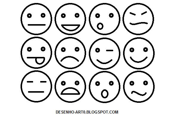 Desenho Art 0: Emoticons