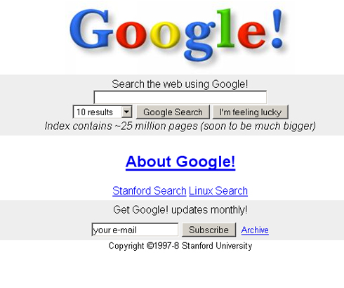 20 amazing and interesting facts about Google on its 20th birthday