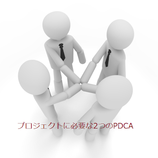 プロジェクトに必要な2つのPDCA
