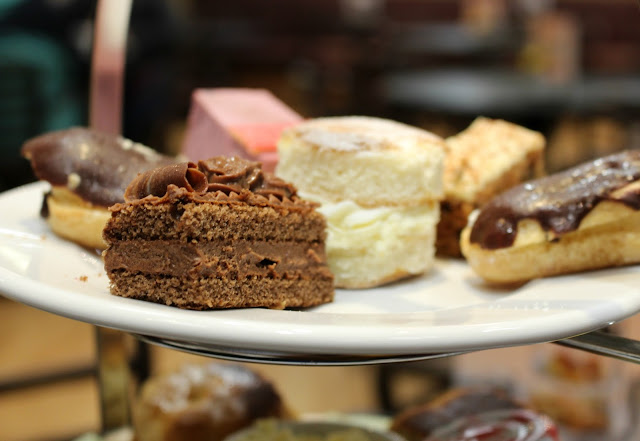 Patissere Valerie afternoon tea Debenhams Liverpool