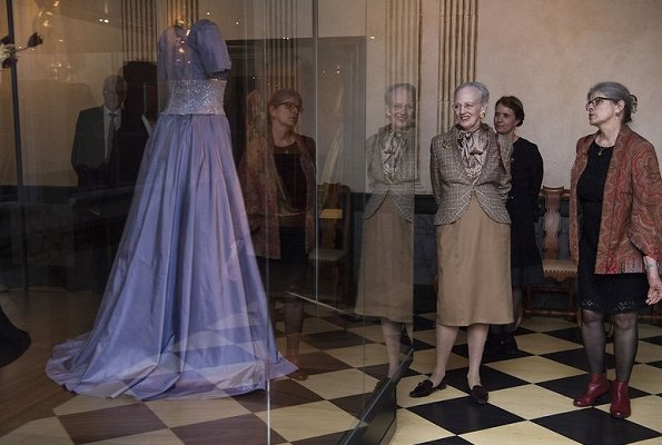 """Queen Margrethe attended opening of """"Fra Dronningens Garderobe"""