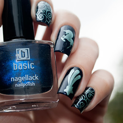 Basic nagellack 27 & Nailz Craze 02