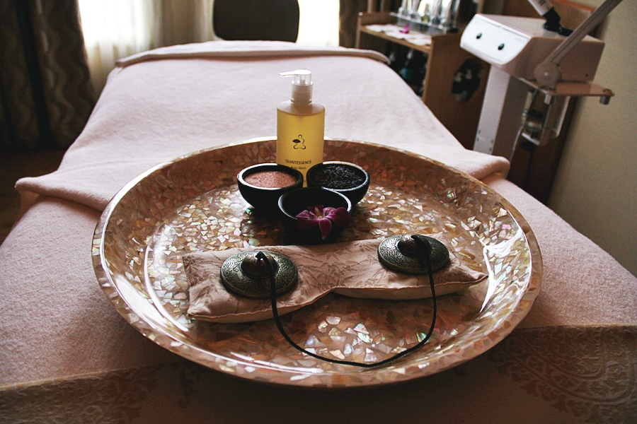 oil spa massage
