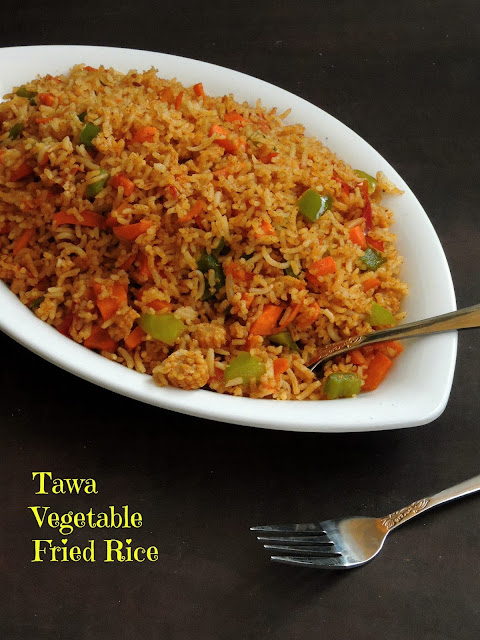 Tawa Vegetable Fried Rice/
