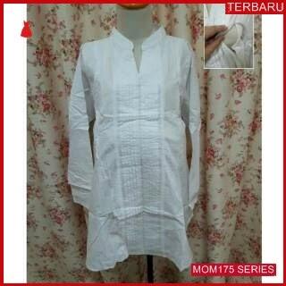 MOM175B15 Baju Atasan Hamil Putih Menyusui Bajuhamil Ibu Hamil
