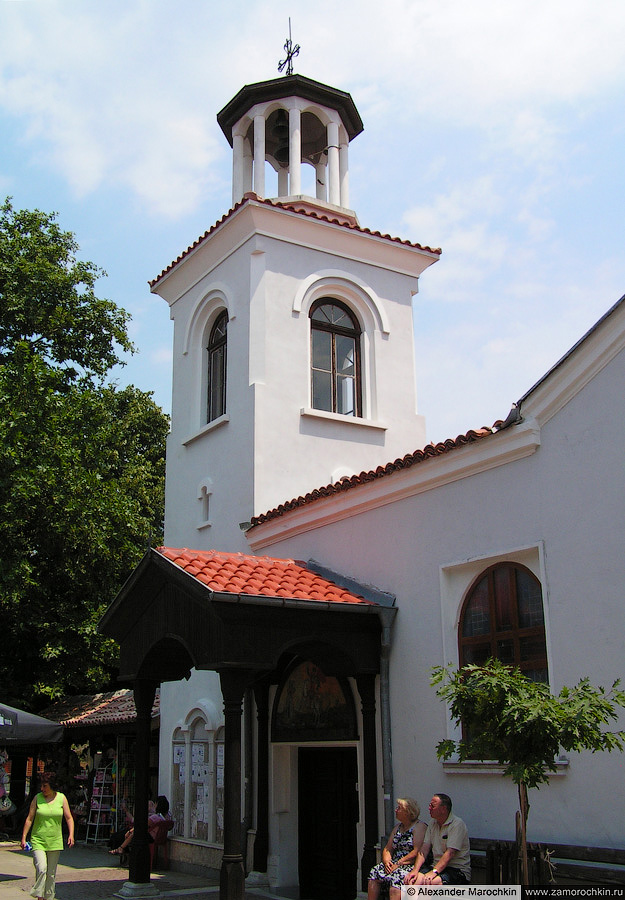 Храм в парке, Созополь (Болгария)   The Temple in the Park, Sozopol (Bulgaria)