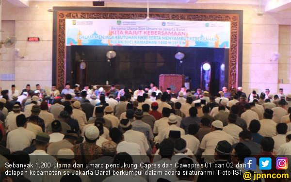 Mantul, Para Ulama Pendukung 01 dan 02 Bersatu Sambut Ramadhan