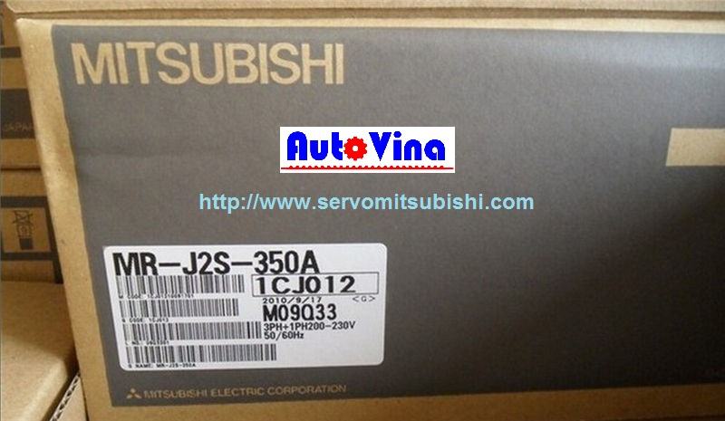 Đại lý bán Drive Amplifier MelServo Mitsubishi 3500W MR-J2S-350A
