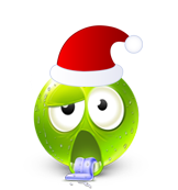 Christmas Smiley Icon 28