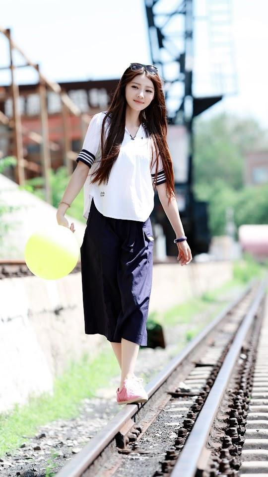 Long Hair School Girl   Galaxy Note HD Wallpaper