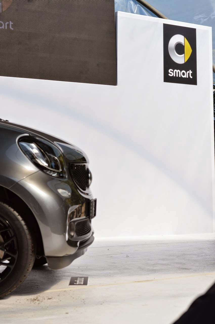 smart forfour nuova