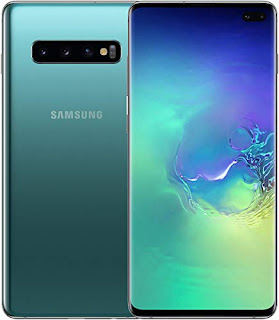 Samsung Galaxy S10 G973 128GB Unlocked GSM LTE Phone with Triple 12MP+12MP+16MP Rear Camera - Prism Green