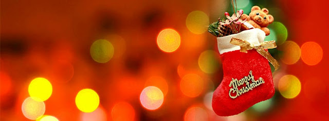 {New} Merry Christmas Facebook Covers Xmas FB Banner