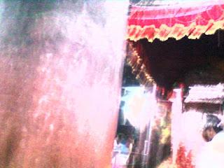 कामाख्या मंदिर में सिहांसन का फोटो