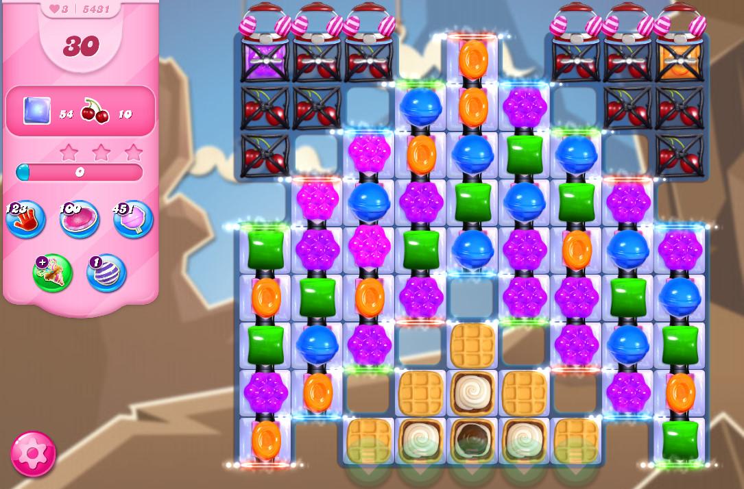 Candy Crush Saga level 5431