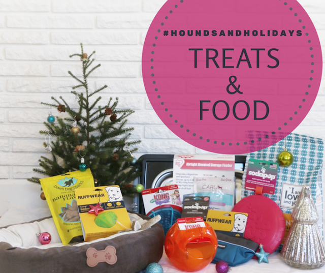 The Holidays, Hounds, and Hot Buys Gift Guide and Giveaway Treats & Food Package