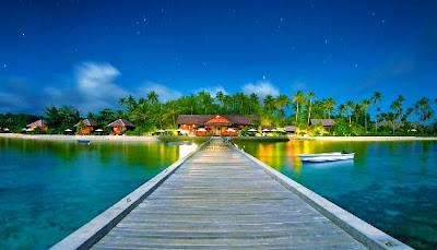Pantai terindah indonesia - Panta wakatobi