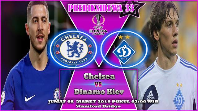 Prediksi Chelsea vs Dinamo Kiev 08 Maret 2019
