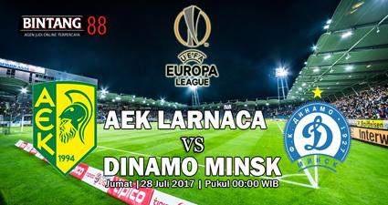 PREDIKSI AEK LARNACA VS DINAMO MINSK 28 JULI 2017